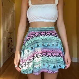 Pink by VS Skater Skirt